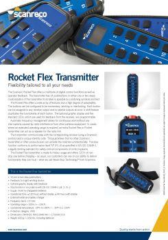 Scanreco Brochure Rocket Transmitter Cover