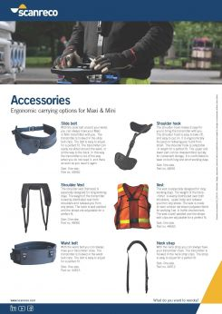 Scanreco Brochure Accessories